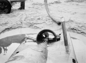 Out Seehund midget submarine