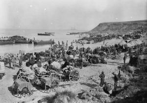 PHOTOGRAPHS RELATING TO THE SERVICE OF ALFRED HERBERT TRESHAM ANDREW AS A MEDICAL OFFICER WITH 88TH FIELD AMBULANCE (RAMC), 29TH DIVISION, DURING THE GALLIPOLI CAMPAIGN, 1915.