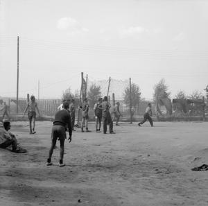 SCENES AT STALAG VIIIB (LAMSDORF) PRISONER OF WAR CAMP, GERMANY 1942 - 1945