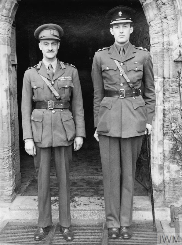 Brigadier Ralph Bagnold Left With His Best Man On His