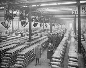 MUNITIONS FACTORIES IN THE UNITED KINGDOM DURING THE FIRST WORLD WAR