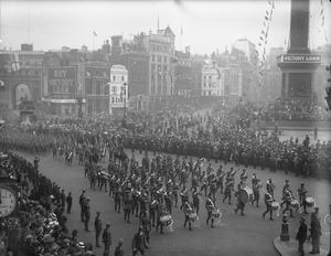 PREPARATIONS FOR THE PEACE DAY CELEBRATIONS, JULY 1919