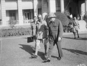 WINSTON CHURCHILL DURING THE SECOND WORLD WAR IN THE MIDDLE EAST