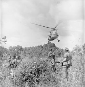 BRITISH FORCES IN BORNEO, 1962-1966