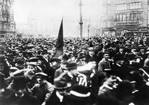 GERMANY AT THE END OF THE FIRST WORLD WAR, INCLUDING SCENES OF THE GERMAN REVOLUTION, 1918-1919
