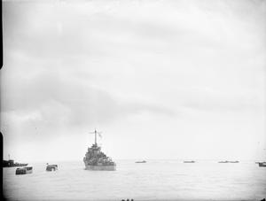 THE ROYAL NAVY DURING THE SECOND WORLD WAR: THE DIEPPE RAID, AUGUST 1942