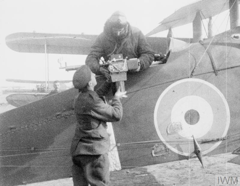 FIRST WORLD WAR 1914 - 1918: AERIAL RECONNAISSANCE