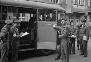 BRITISH FORCES IN BERLIN, GERMANY 1949 - 1960