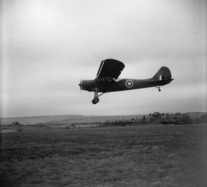 AMERICAN AIRCRAFT IN ROYAL AIR FORCE SERVICE 1939-1945: VULTEE-STINSON MODEL 74 VIGILANT.