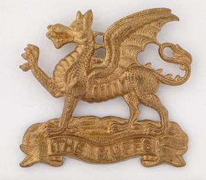 badge, headdress, British, The Buffs (Royal East Kent Regiment)