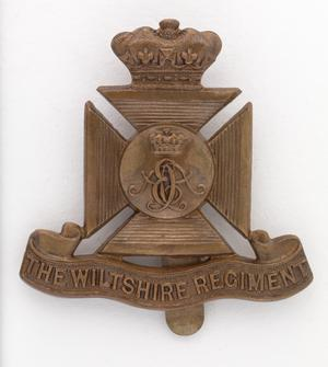 badge, headdress, British, The Duke of Edinburgh's (Wiltshire Regiment), other ranks