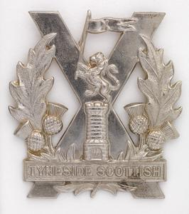 badge, headdress, British, Northumberland Fusiliers, 20th-23rd & 29th Battalions (Tyneside Scottish)