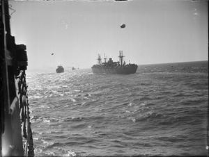 THE ROYAL NAVY DURING THE SECOND WORLD WAR: OPERATION HUSKY, SICILY, JULY 1943