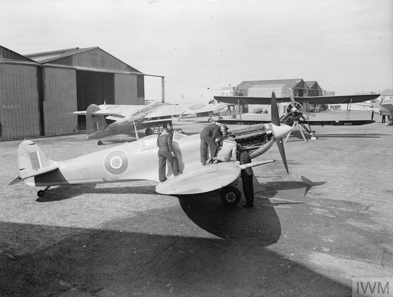 ACTIVITIES AT ROYAL NAVAL AIR STATION LEE-ON-SOLENT, 13 TO 17 SEPTEMBER 1943