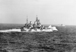 HMS BELFAST DURING THE SECOND WORLD WAR: OPERATION LEADER 5-6 OCTOBER 1943