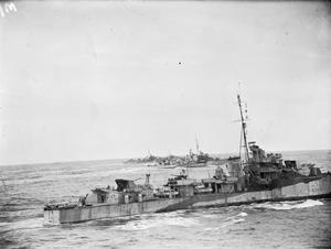 ANTI SUBMARINE WARFARE DURING THE SECOND WORLD WAR, TWO NEW CLASSES OF DESTROYER, DECEMBER 1943