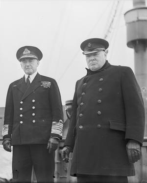 PRIME MINISTER WINSTON CHURCHILL VISITS THE USA, MAY 1943