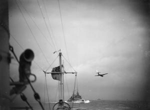 HMS BELFAST DURING THE SECOND WORLD WAR: OPERATION TUNGSTEN MARCH-APRIL 1944