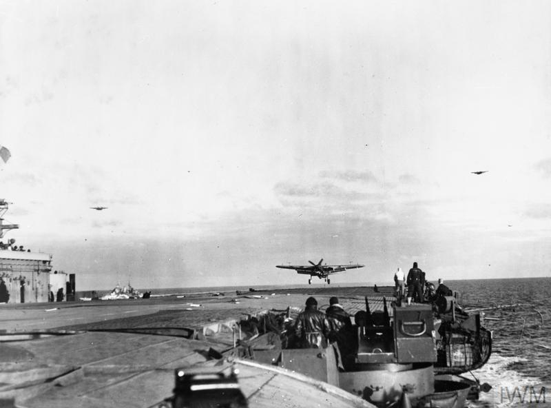 THE ROYAL NAVY DURING THE SECOND WORLD WAR: OPERATION TUNGSTEN MARCH-APRIL 1944
