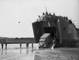 THE ROYAL NAVY DURING THE SECOND WORLD WAR: OPERATION OVERLORD (THE NORMANDY LANDINGS), JUNE 1944