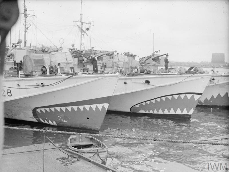 AT A COASTAL FORCES BASE, HMS HORNET, GOSPORT, 4 JUNE 1944.