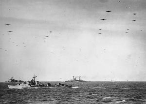 THE ROYAL NAVY DURING THE SECOND WORLD WAR: OPERATION OVERLORD (THE NORMANDY LANDINGS): D-DAY 6 JUNE 1944