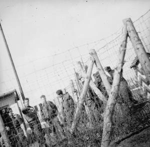 SCENES AT STALAG VIIIB (LAMSDORF) PRISONER OF WAR CAMP, GERMANY 1942 - 1945
