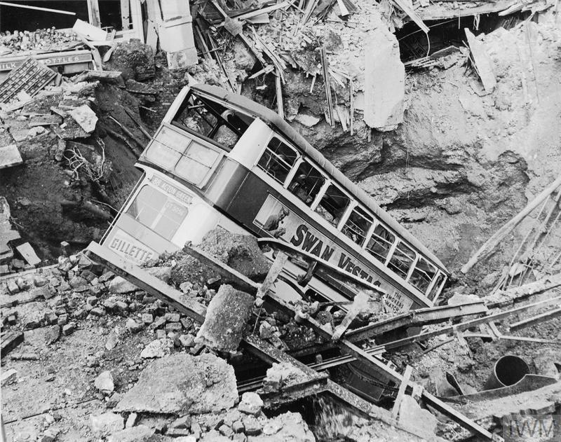 AIR RAID DAMAGE IN BRITAIN DURING THE SECOND WORLD WAR