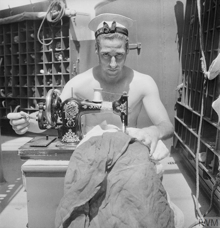 LIFE AT SEA ON BOARD HMS ALCANTARA, MARCH 1942