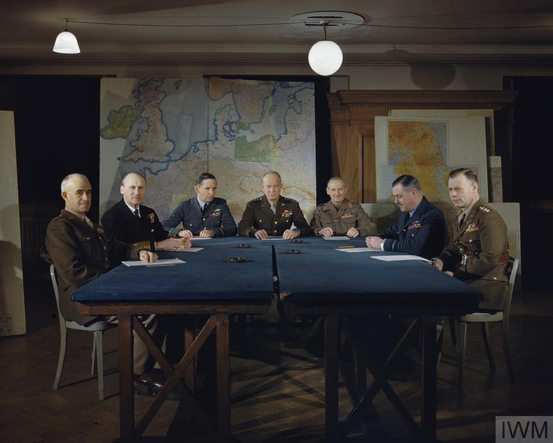 MEETING OF THE SUPREME COMMAND, ALLIED EXPEDITIONARY FORCE, LONDON, 1 FEBRUARY 1944