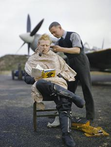 At a Royal Air Force Fighter Station in Britain, NOV 1942