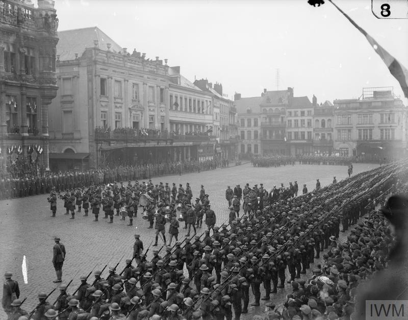 Libération de Valenciennes - 1918