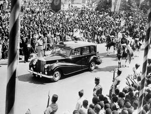 GHANA INDEPENDENCE CELEBRATIONS, ACCRA, GHANA, 5 MARCH 1957