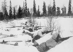 THE WAR IN FINLAND, 1940