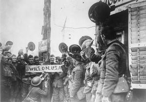 AMERICAN TROOPS ON THE WESTERN FRONT, 1917