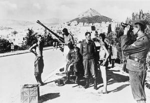 THE GERMAN ARMY IN GREECE, 1941