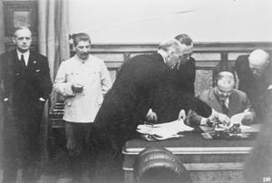 THE NAZI-SOVIET NON-AGGRESSION PACT (THE RIBBENTROP-MOLOTOV PACT)