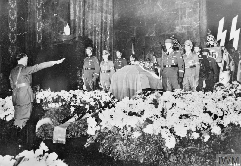 THE FUNERAL OF REINHARD HEYDRICH, 1942