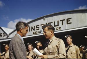 BRITISH AIRMEN TRAINING WITH THE EMBRY-RIDDLE COMPANY AT CARLSTROM FIELD, ARCADIA, FLORIDA, AMERICA, AUGUST 1941
