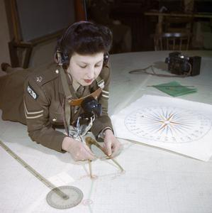 428 BATTERY, COASTAL DEFENCE ARTILLERY HEADQUARTERS, DOVER, KENT, DECEMBER 1942