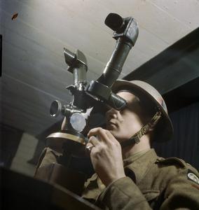 428 BATTERY, COASTAL DEFENCE ARTILLERY HEADQUARTERS, DOVER, KENT, DECEMBER 1942