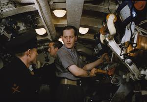 ON BOARD HM SUBMARINE TRIBUNE, SEPTEMBER 1942