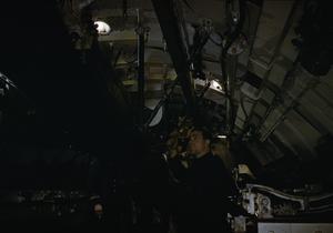 ON BOARD HM SUBMARINE TRIBUNE, 1942