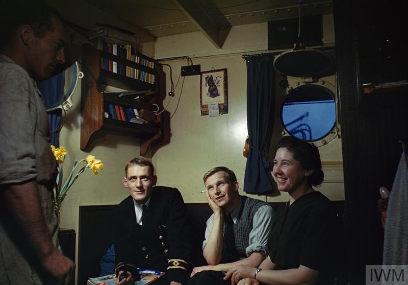 LADIES DAY ON BOARD SS EMPIRE FAITH, 16 FEBRUARY 1943