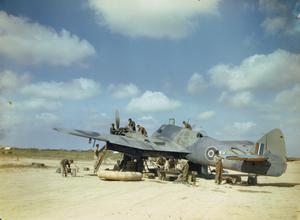 THE ROYAL AIR FORCE IN THE LIBYAN DESERT, MAY 1943