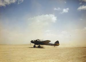 THE ROYAL AIR FORCE IN THE LIBYAN DESERT, APRIL 1943