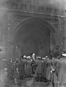 THE FUNERAL PROCESSION OF EARL HAIG, LONDON
