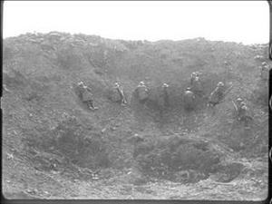 MINING ACTIVITY ON THE BRITISH FRONT [Main Title]