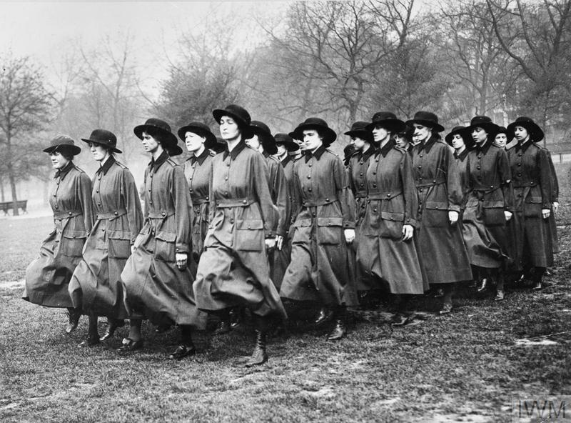 THE WOMEN'S ARMY AUXILIARY CORPS ON THE HOME FRONT, 1917-1918