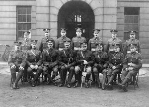 ALLIED PRISONERS IN THE GERMAN CAPTIVITY, 1914-1918